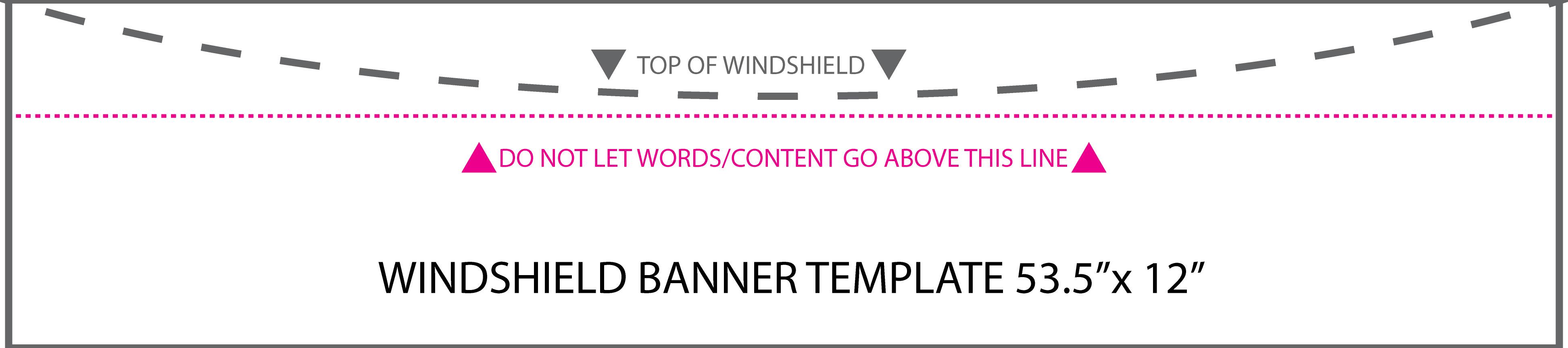 Windscreen Banner Octane List